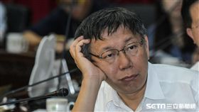 台北市長柯文哲27日出席接種肺炎鏈球菌疫苗記者會 圖/記者林敬旻攝