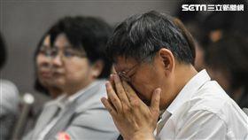台北市長柯文哲28日出席今周刊台日交流幸福熟齡論壇 圖/記者林敬旻攝