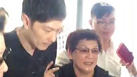 國民黨市議員李新從前妻住家墜樓身亡,檢察官進行遺體相驗工作(楊忠翰攝)