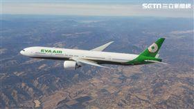 長榮航空,波音777-300ER。(圖/長榮提供)