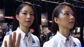 東京機器人展,演員,機器人,擬人,美女,遊戲 圖/翻攝自YouTube