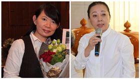 廖素惠,張花冠,合成圖/翻攝自陳明文臉書、張花冠臉書
