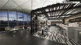 美國運通The Centurion Lounge貴賓室,香港機場。(圖/美國運通提供)