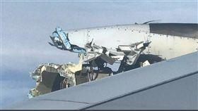 法國航空,A380,客機,引擎解體(圖/翻攝自推特)