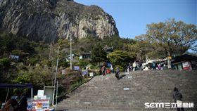 韓國旅遊,濟州島,山房山,山房窟寺。(圖/記者簡佑庭攝)