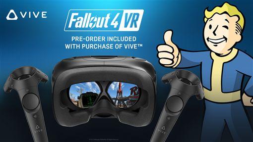 HTC:買VIVE就送《異塵餘生 4 VR》