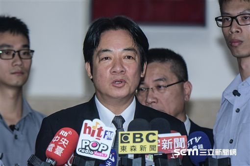 行政院長賴清德3日前往立法院備詢 圖/記者林敬旻攝