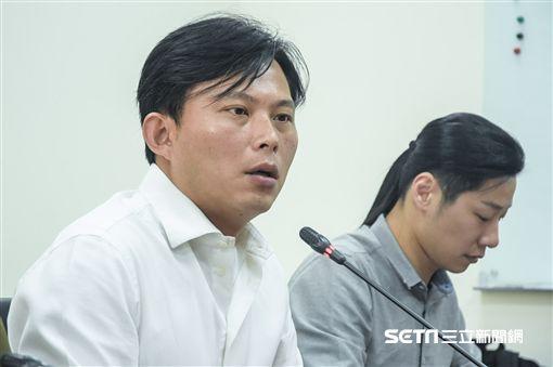 時代力量例行記者會,黃國昌 圖/記者林敬旻攝
