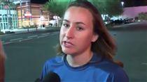 美國,賭城,拉斯維加斯,槍擊案,目擊者(每日郵報 影片 http://www.dailymail.co.uk/news/article-4940216/Woman-heard-shouting-threat-massacre-Vegas.html)
