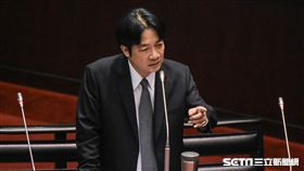 行政院長賴清德3日赴立法院備詢 圖/記者林敬旻攝