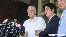 行政院長賴清德前往翠山莊拜會前總統李登輝 圖/記者林敬旻攝