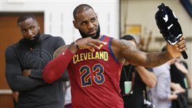 ▲LeBron James被看好拿MVP。(圖/美聯社/達志影像)