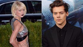 泰勒絲 Taylor Swift 哈利斯泰爾斯 Harry Styles 合成圖/美聯社/達志影像