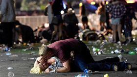 拉斯維加斯,槍擊,賭客,賭城,屠殺,救援,美國,軍人,照片 圖/翻攝自DDS