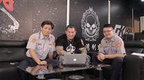 「館長」陳之漢將與交通警察大隊攜手播出直播節目。(圖/翻攝畫面)