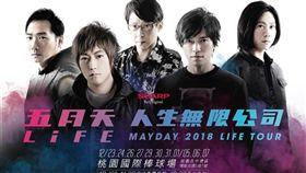 ▲相信音樂在臉書宣告五月天跨年演唱會場次。(圖/翻攝相信音樂臉書)