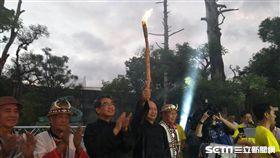 ▲宜蘭全運會聖火點燃。(圖/記者林辰彥攝影)