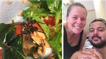 澳洲,超市,新鮮,沙拉,誤食,蜘蛛,Woolworths 圖/翻攝自3aw