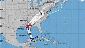 熱帶性暴風雨,美國,紐奧良,撤離,Nate,緊急狀態(圖/翻攝自推特Eric Holthaus)https://twitter.com/search?src=typd&q=New%20Orleans%20Nate&lang=zh-tw