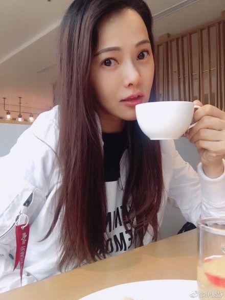 伊能靜/翻攝自微博