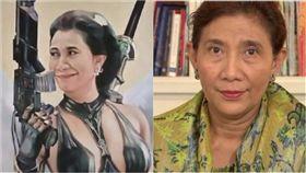 Susi Pudjiastuti,Joko Widodo,瘋子,印尼,部長,女強人,漁船,非法捕魚,海域 圖/翻攝自BBC
