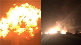 16:9 狀似蘑菇雲!迦納首都天然氣站爆炸 死傷人數不詳 圖/翻攝自Nazygold2 Twitter https://twitter.com/Nazygold2/status/916781969807171586