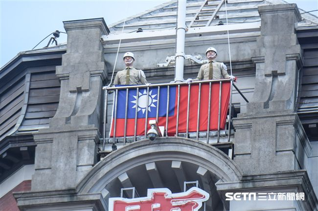中華民國國慶大典(圖/記者林敬旻攝)