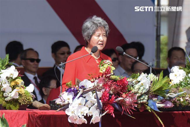 僑胞代表許照惠(圖/記者林敬旻攝)