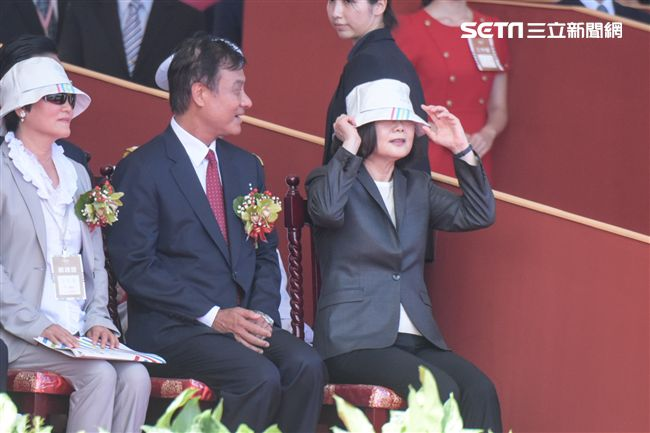 總統蔡英文(圖/記者林敬旻攝)