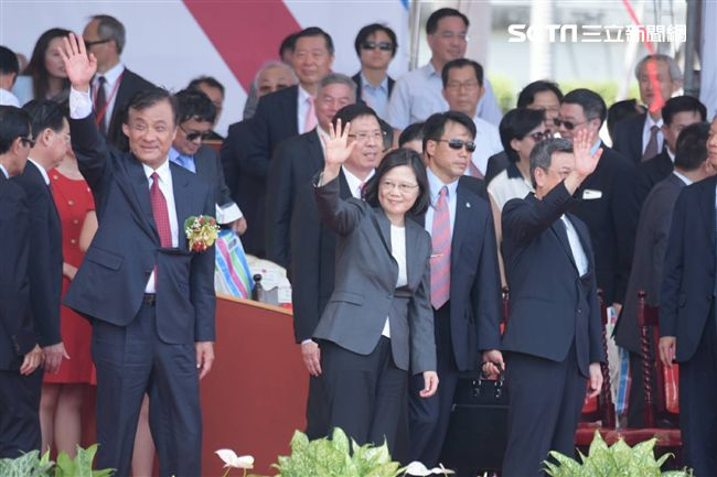 國慶總統蔡英文(圖/記者林敬旻攝)