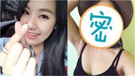 ▲劉雨柔表妹(右)曝光。(圖/翻攝自劉雨柔、黛咪臉書)