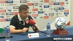 ▲巴林隊總教練Miroslav Soukup。(圖/記者林辰彥攝影)