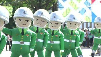 國慶大典最萌國軍娃娃 背後推手曝光