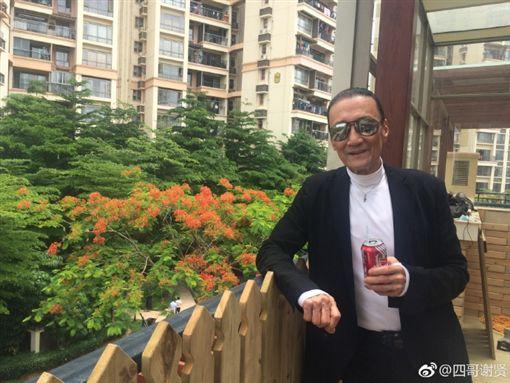 ▲謝賢爽收豪宅生日禮。(圖/翻攝自謝賢微博)