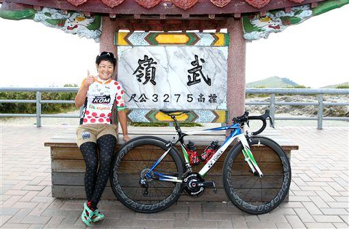 ▲2013、2015台灣登山王女子組冠軍日本與與那嶺惠理。(圖/中華民國自行車騎士協會提供)