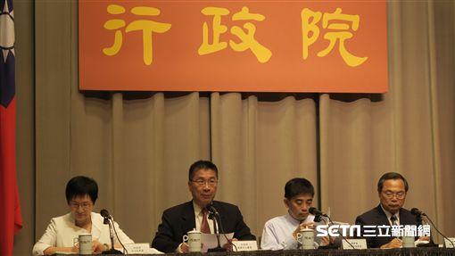 行政院召開「加速投資台灣專案會議」第2次會議,會後記者會。(記者盧素梅攝)