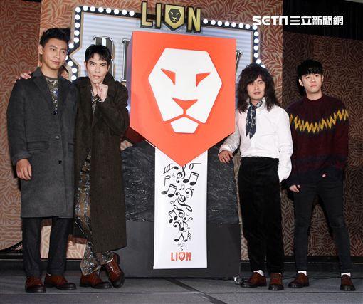 獅子合唱團2017全新專輯REPLAY正式發片。(記者邱榮吉/攝影)