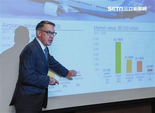 波音商用飛機集團行銷副總裁Randy J. Tinseth。(圖/波音提供)