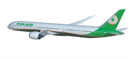 長榮787客機。(圖/翻攝自波音官網)