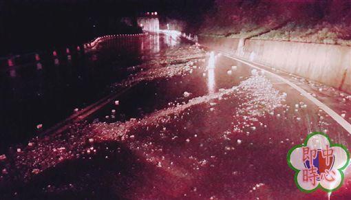 蘇花公路,蘇澳,南澳,車道,豪雨特報,預警性封閉 圖/翻攝畫面