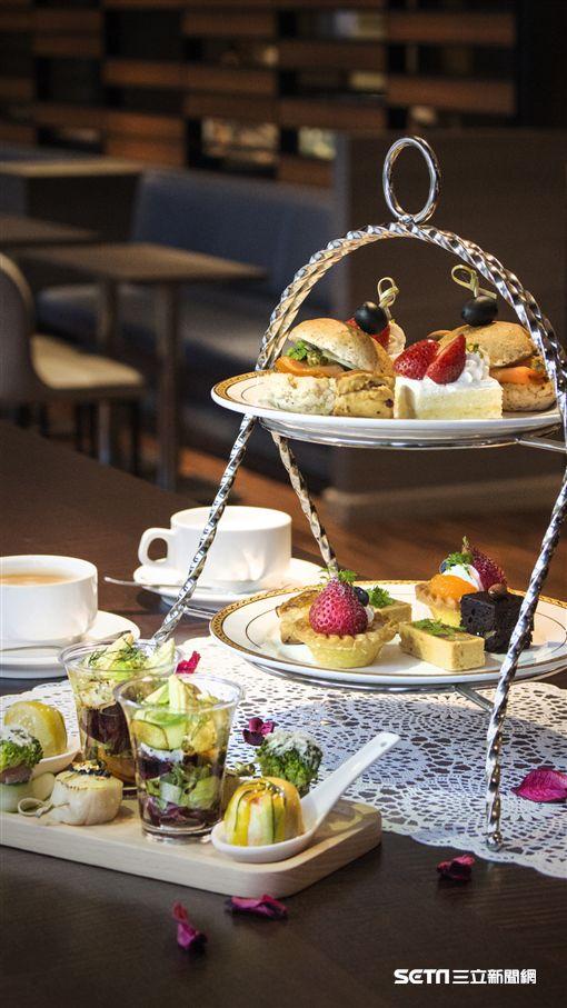 凱達大飯店下午茶。(圖/凱達大飯店提供)
