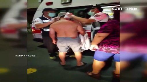 鄰居糾紛持菜刀談判 反遭鐵鉤攻擊受傷