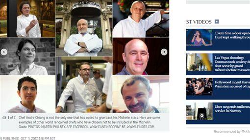米其林,名廚,壓力,脫星,餐飲,餐廳,評比,二星,三星http://www.straitstimes.com/lifestyle/food/restaurant-andre-closing-8-other-chefs-who-gave-back-their-michelin-stars