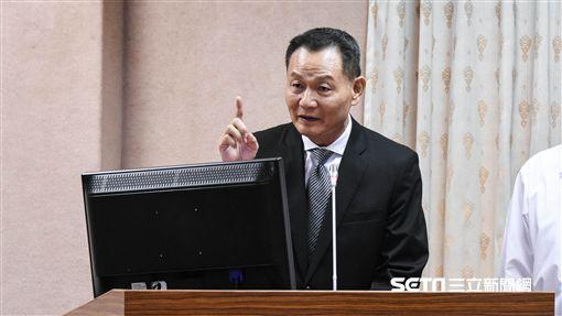 退輔會主委李翔宙 圖/記者林敬旻攝