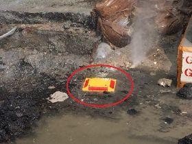 未申請許可挖破瓦斯管 中市府開罰並送