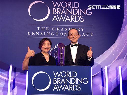 福容大飯店負責人郭美珠 ,駐英國代表 林永樂。