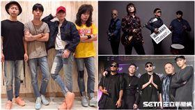 蕭敬騰,獅子合唱團,伍佰,China Blue,兄弟本色,熱狗,Mc Hotdog,頑童/臉書、資料照