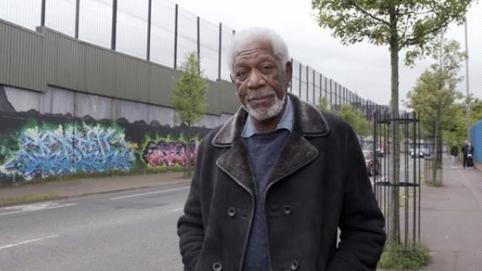 摩根費里曼,Morgan Freeman(圖/翻攝自推特)