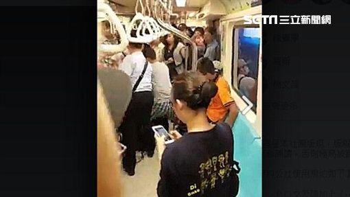 捷運上演全武行 雨傘哥說原因是這個