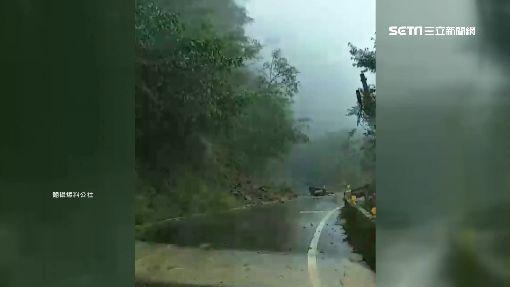 宜蘭連日大雨 土石鬆動台7線68.5K坍方